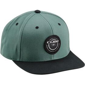 Cube Edge Freeride Cap, green'n'black